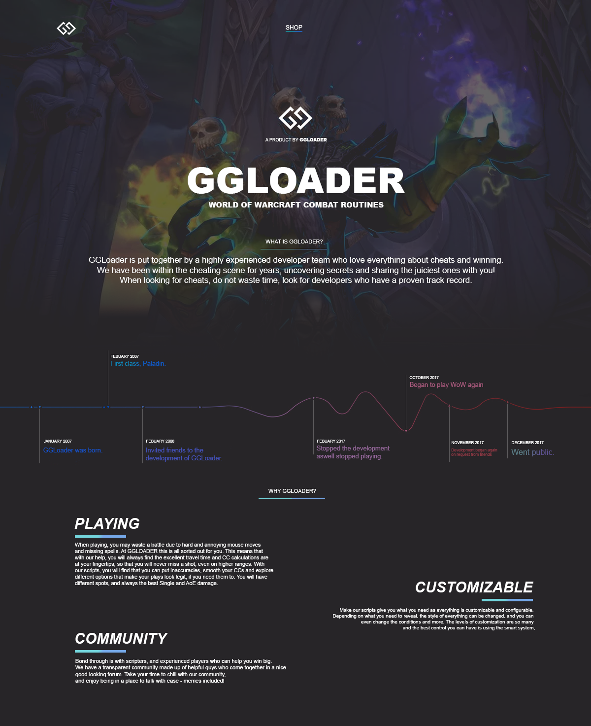 B] - GGLoader 8 1 5 PRO PvP+PvE PIXEL ⚔️COMBAT ROUTINES⚔️ ARENA